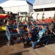 Cultivador 21 brazos plegable hidraulico